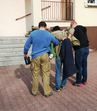 Błyskawiczny areszt dla sprawcy rozboju z Konstantynowa.