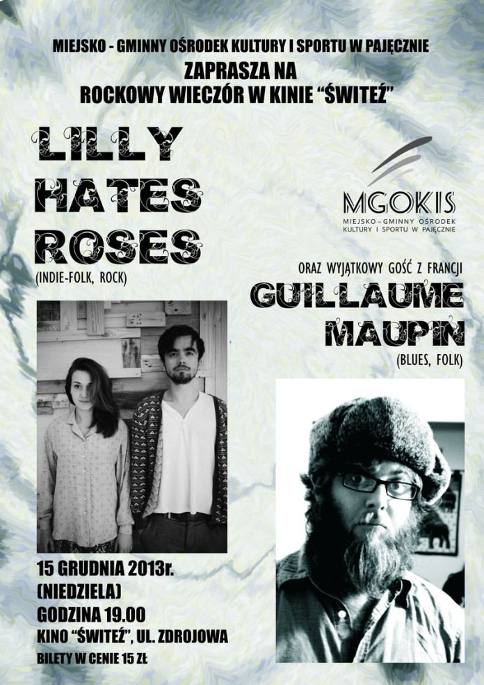 Lilly Hate Roses plakat Pajęczno