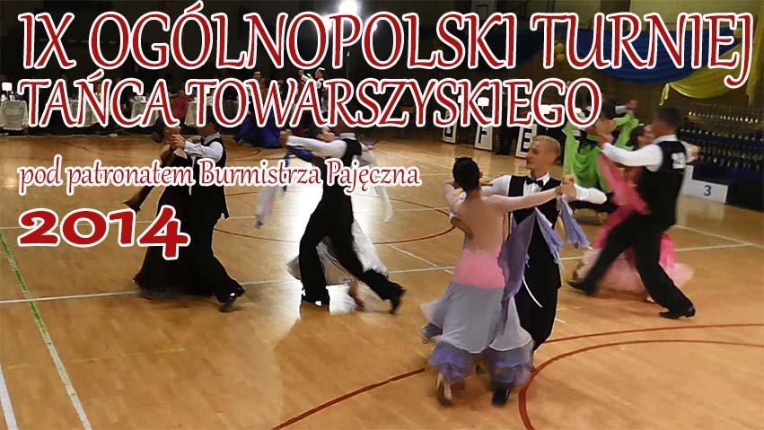 IX Ogólnopolski Turniej Tańca w Pajęcznie – wideo