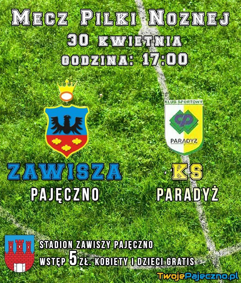 Zawisza Pajeczno – KS Paradyż