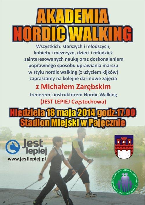 akademia nordci walking pajeczno