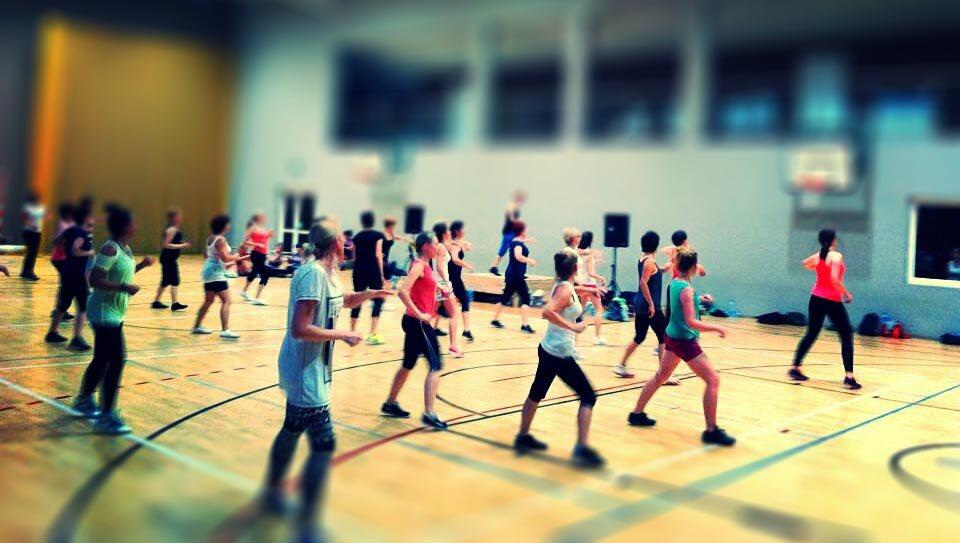 Bezpłatne zajęcia aerobiku w Rząśni