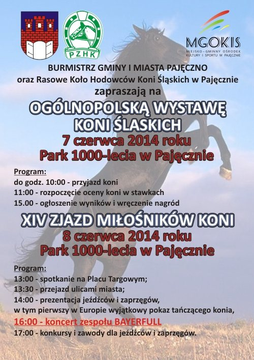 Wystawa_i_Zjazd_ koni pajeczno 2014