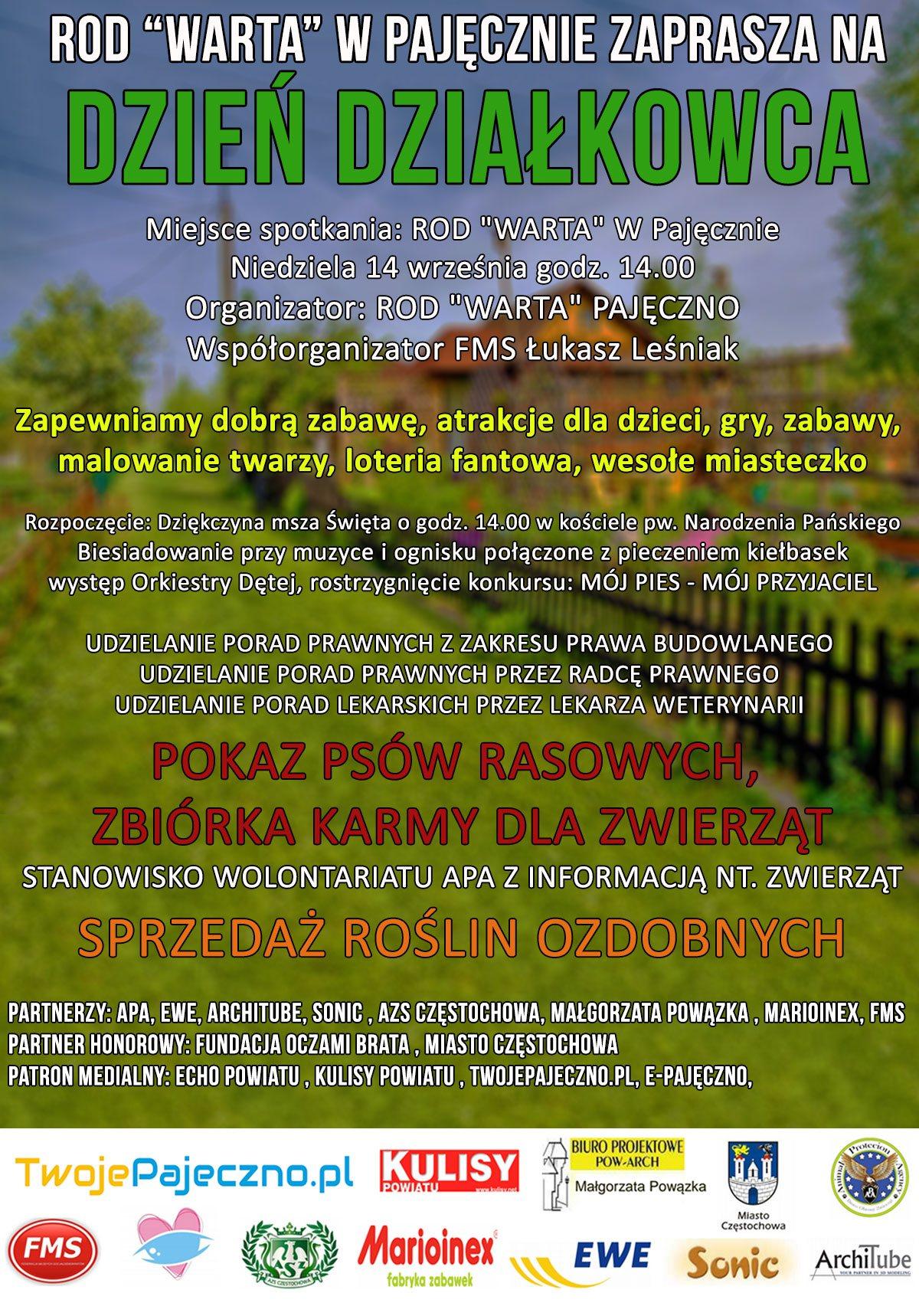 dzien-dzialkowca-pajeczno-2014-plakat