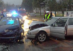 Wypadek Pajęczno Częstochowska (4)