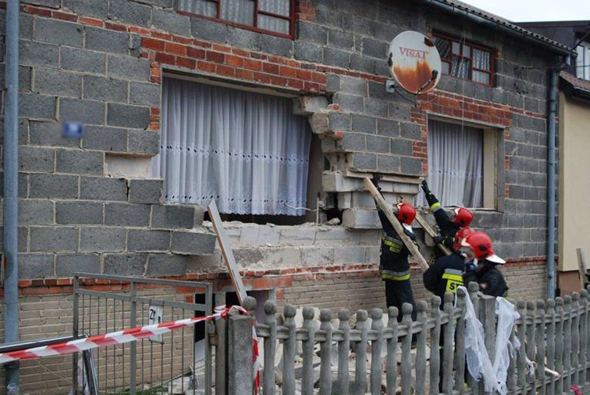 Wybuch gazu w Czerkiesach