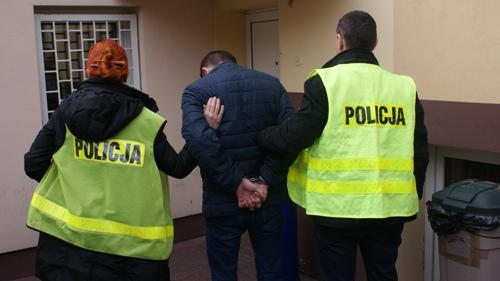 Szpitalny złodziej w rękach policji