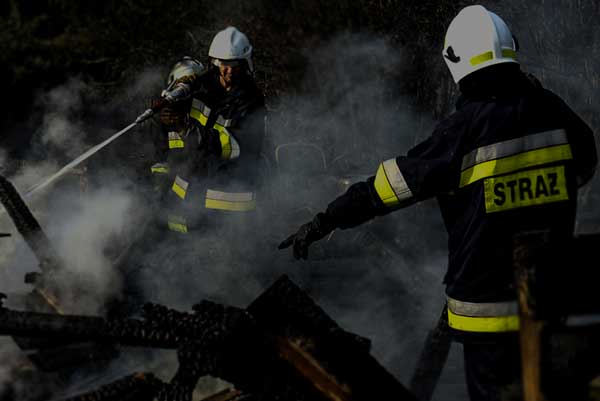 Strażacy walczyli z nocnym pożarem