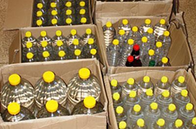 Nielegalny alkohol w gminie Rząśnia