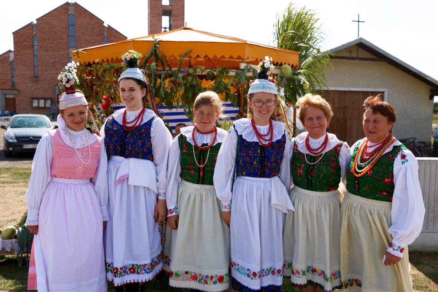 Dożynki gminno-parafialne w Pajęcznie [ZDJĘCIA]