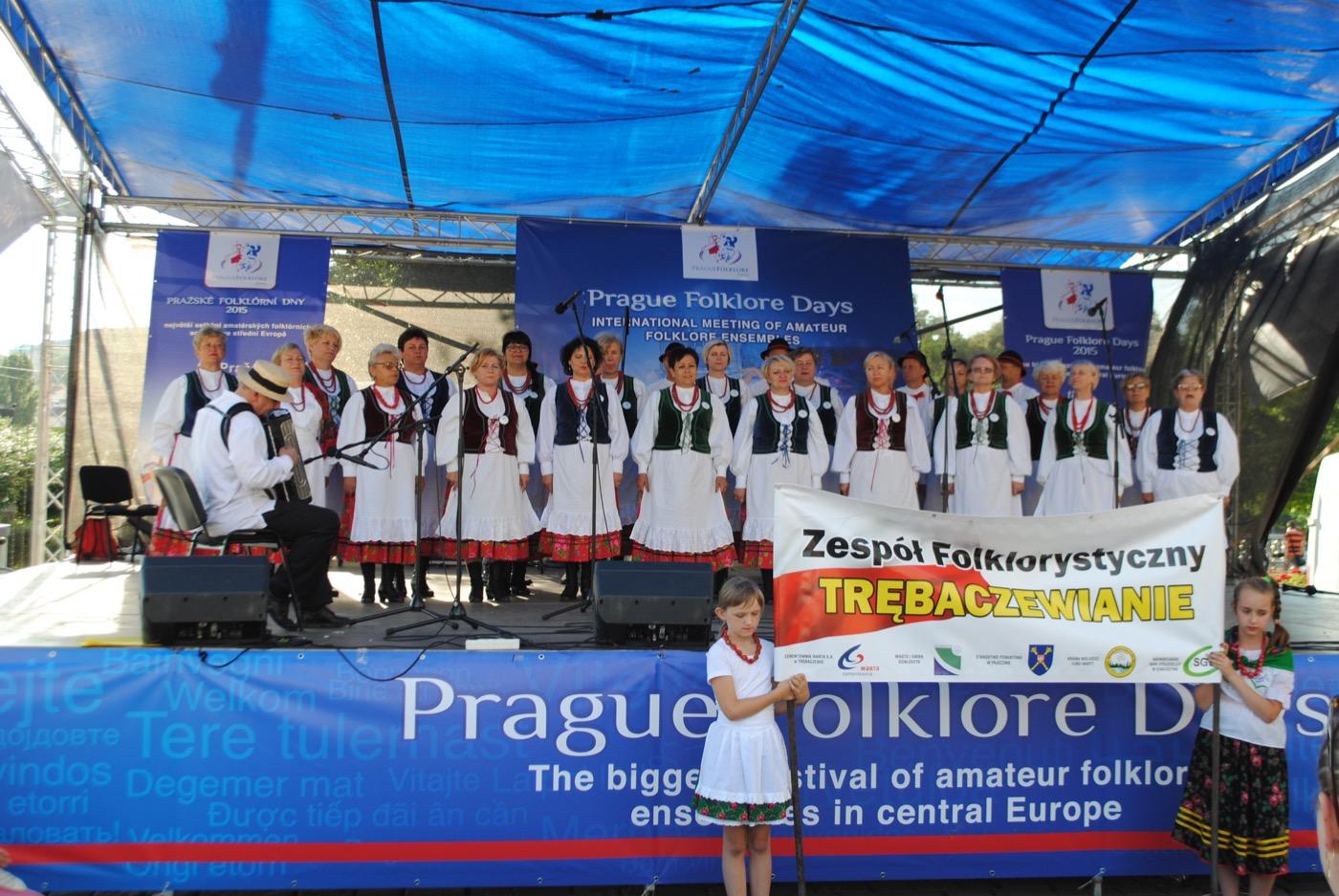 Trębaczewianie zaśpiewali w Pradze
