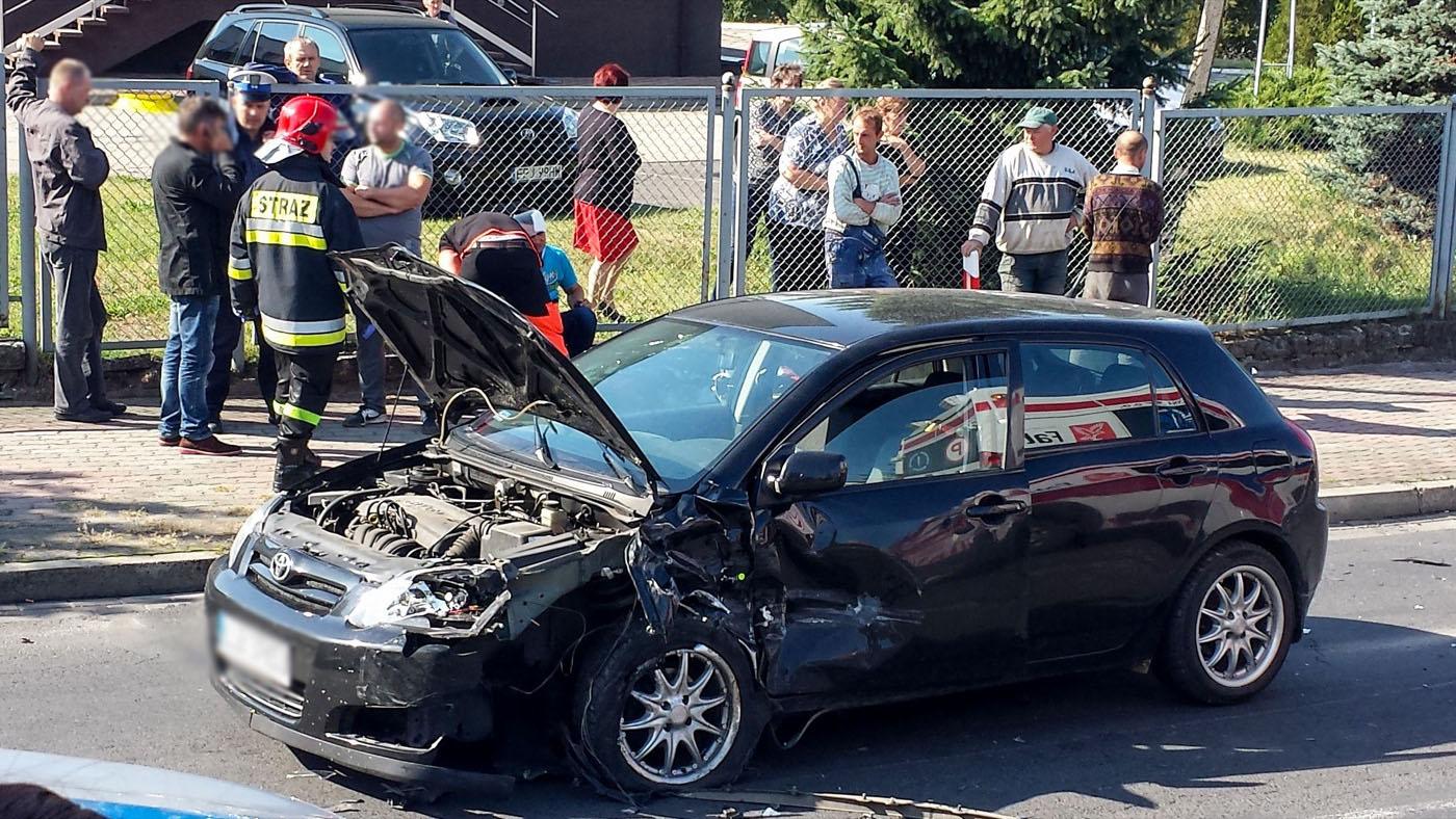 Groźny wypadek w Pajęcznie