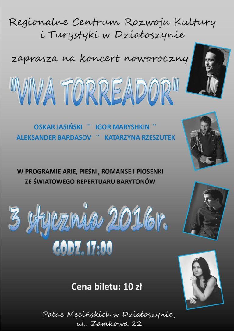 """Koncert noworoczny """"Viva Torreador"""""""