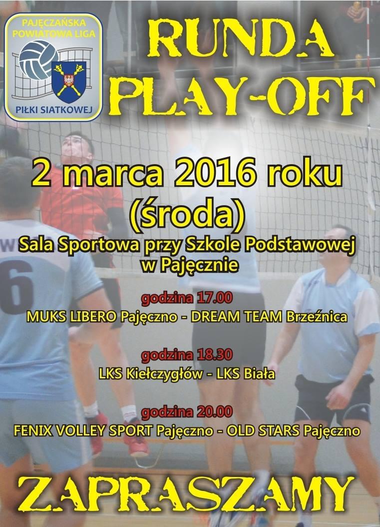 play off siatkowka pajeczno