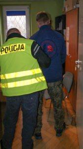 policja kradziez ciezarowki falszywy