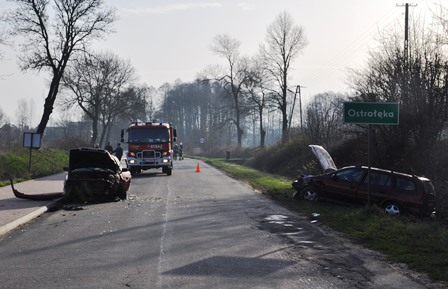 Groźny wypadek w Ostrołęce