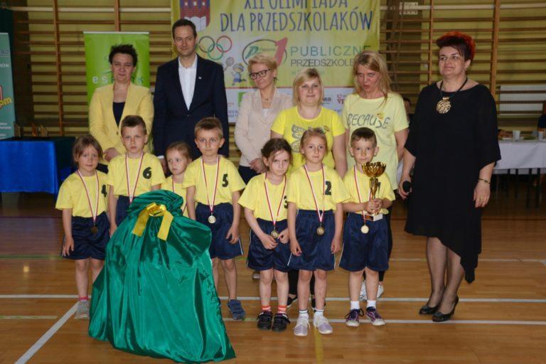 XII Olimpiada Sportowa Przedszkolaków