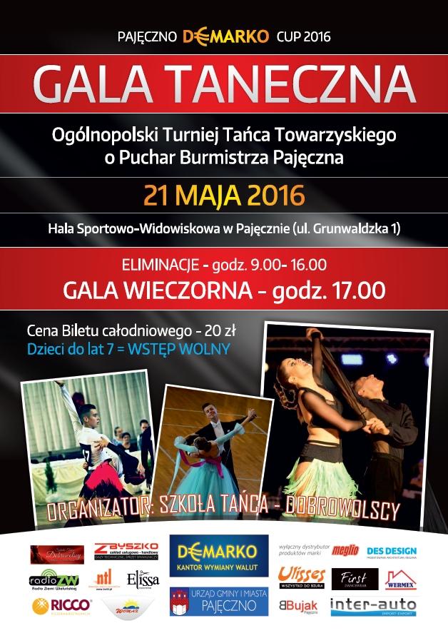 """XI Gala Taneczna """"O Puchar Burmistrza Pajęczna"""""""