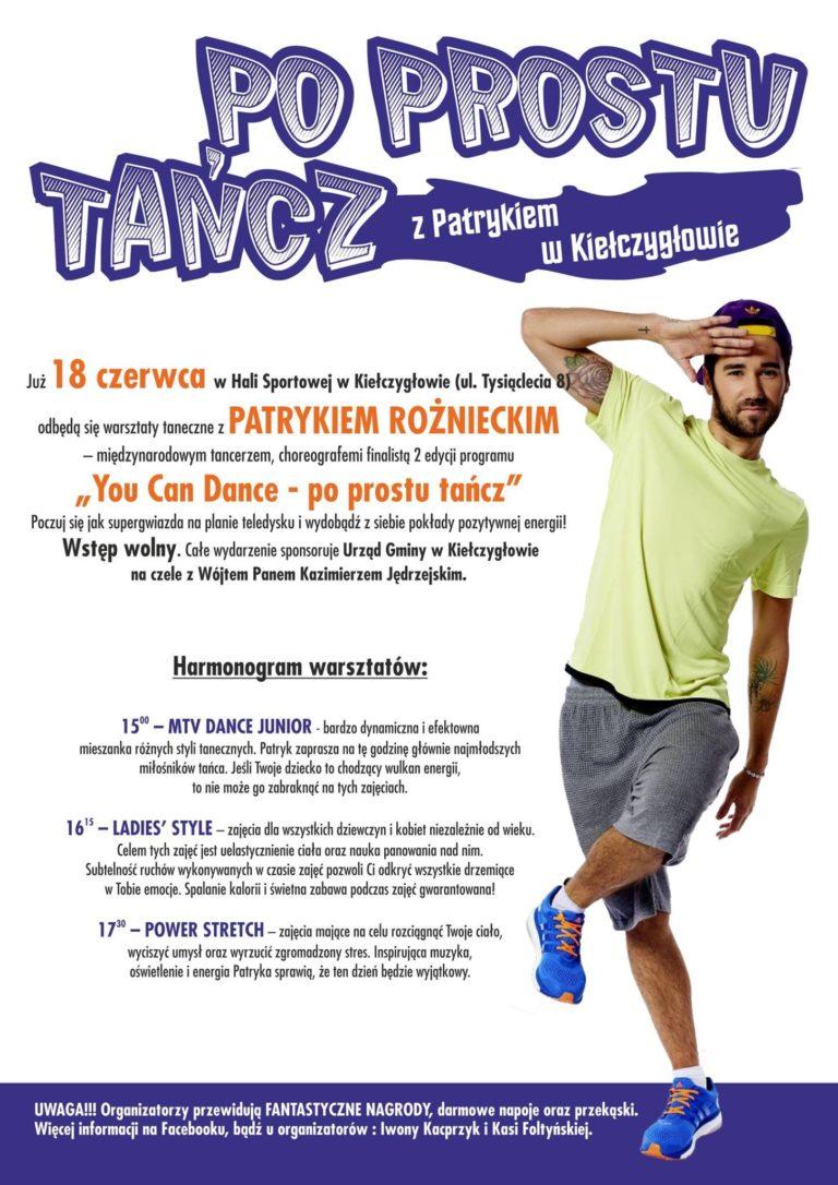 """Warsztaty taneczne z finalistą """"You Can Dance"""""""
