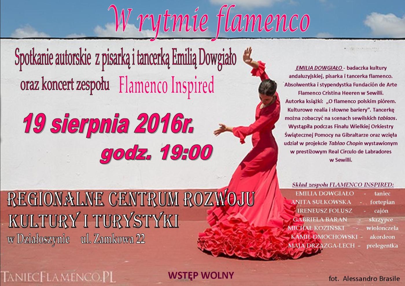 flamenco plakat