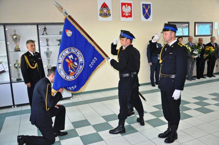 Komendant straży pożarnej odszedł na emeryturę