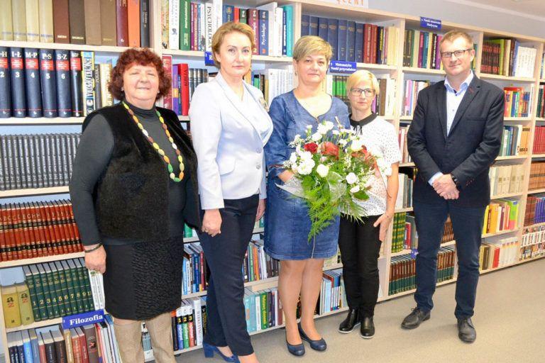 """Anita Wawrzyniak nagrodzona odznaką """"Zasłużony dla Kultury Polskiej"""""""