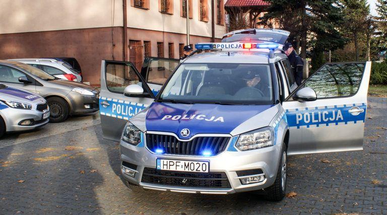 Nowy radiowóz w Działoszynie