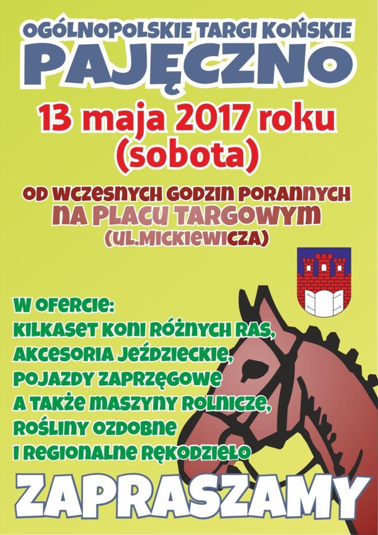 Ogólnopolskie Targi Końskie w Pajęcznie