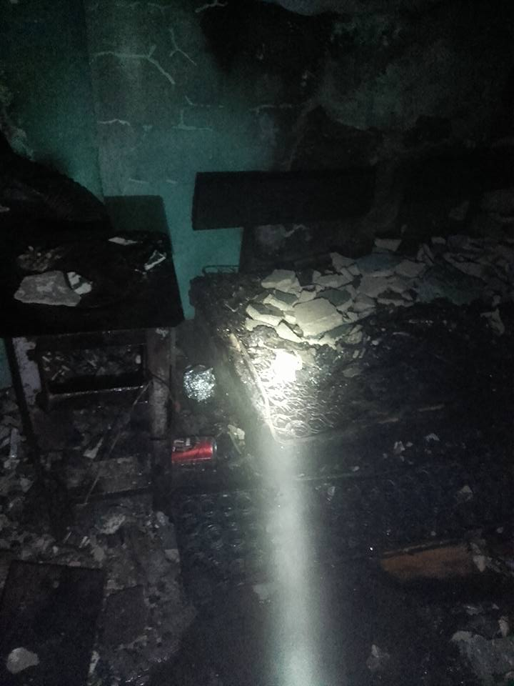 Papieros przyczyną pożaru w Działoszynie