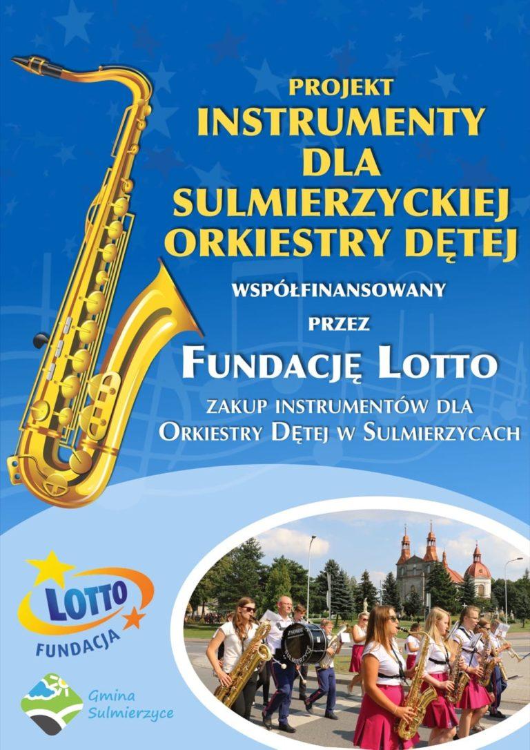 Instrumenty dla Orkiestry Dętej w Sulmierzycach