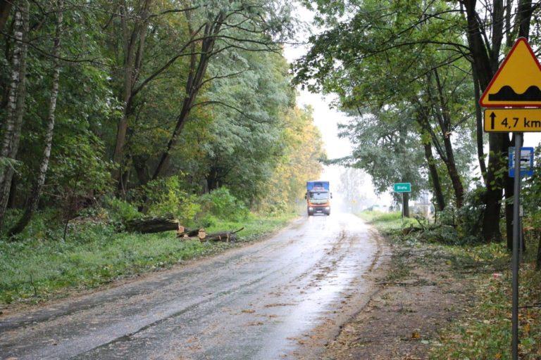 Orkan Grzegorz nadciąga do powiatu pajęczańskiego