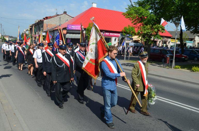 Uroczyste obchody Święta Konstytucji 3 Maja w Pajęcznie