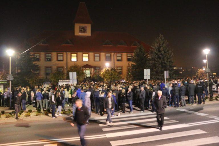 Protest wycofany ale to nie koniec wyborczej przepychanki w Działoszynie