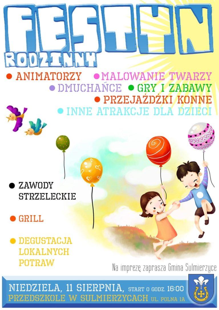 Festyn rodzinny w Sulmierzycach