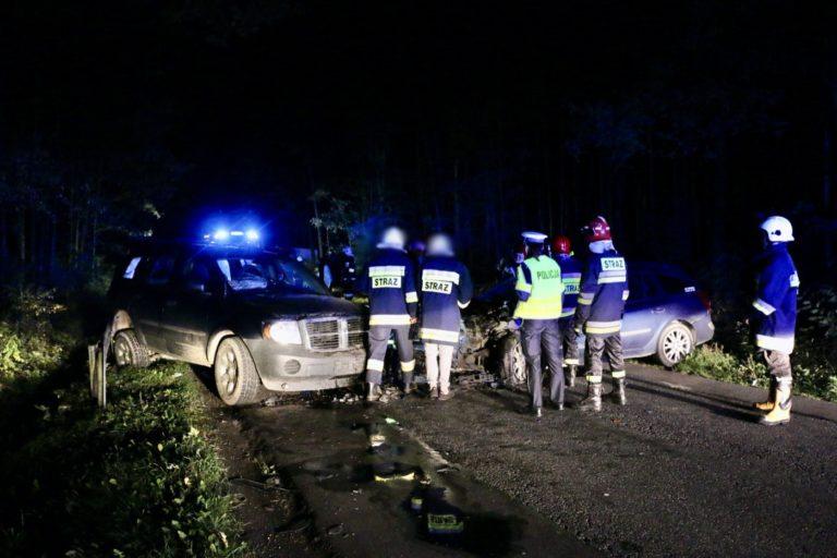 Siemkowice. Pijany kierowca sprawcą niebezpiecznego wypadku