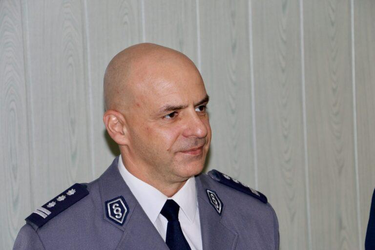 Komendant powiatowy policji zatrzymał sprawców pobicia