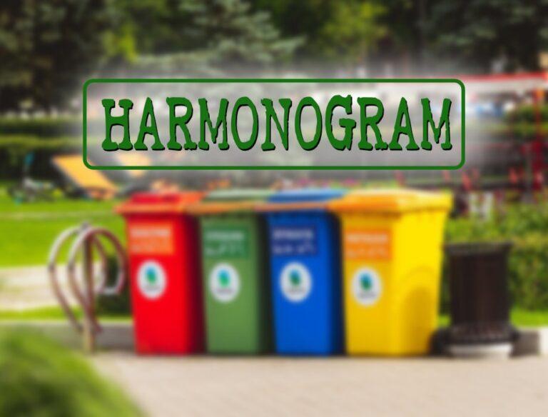 Harmonogram wywozu odpadów komunalnych w Gminie Działoszyn