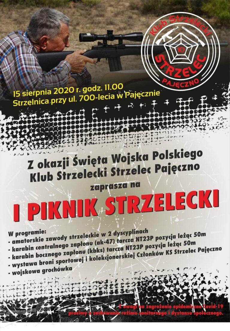 """""""I Piknik Strzelecki"""" w Pajęcznie"""