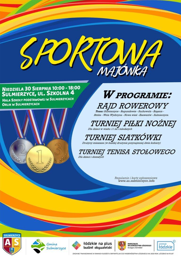"""""""Sportowa Majówka"""" w Sulmierzycach"""