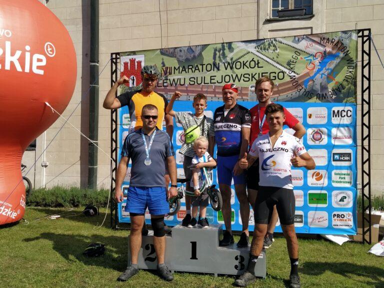Pasek i Posmyk na podium VII Ultramaratonu wokół Zalewu Sulejowskiego