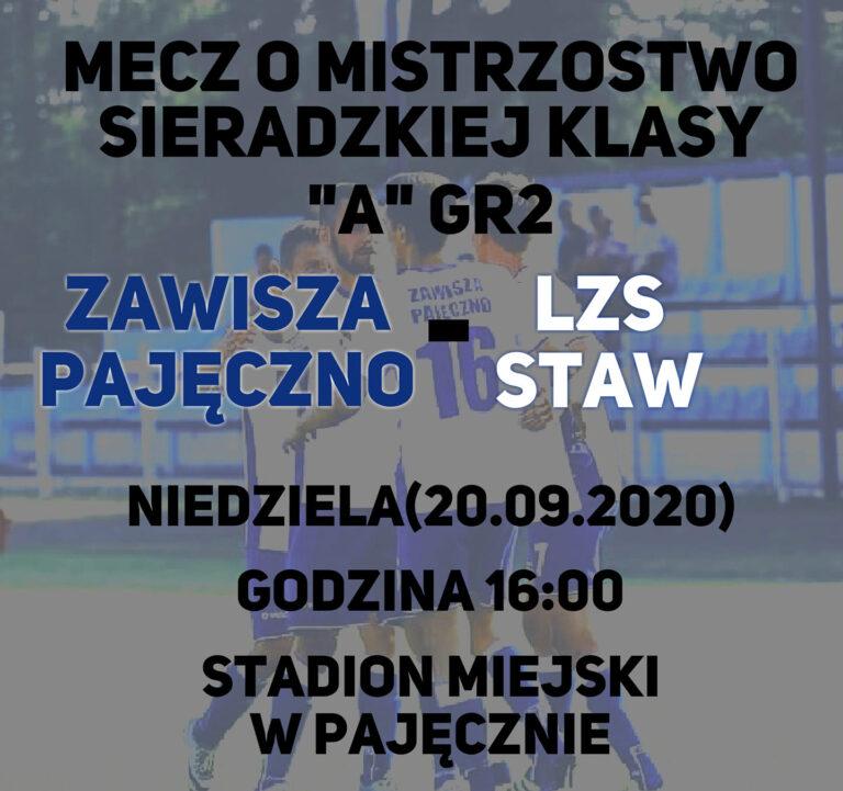 Zawisza Pajęczno – LZS Staw