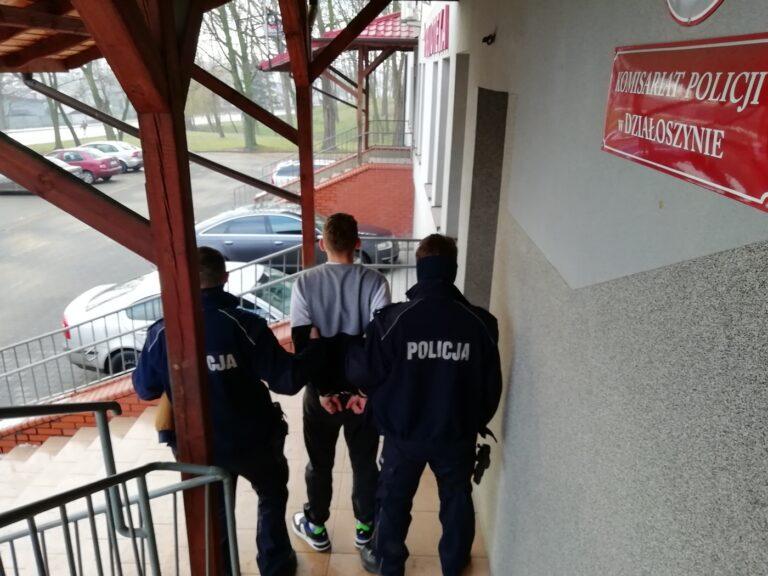 Działoszyn. Areszt dla 21-letniego sprawcy rozboju