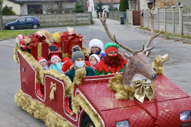Święty Mikołaj odwiedził dzieci z gminy Działoszyn