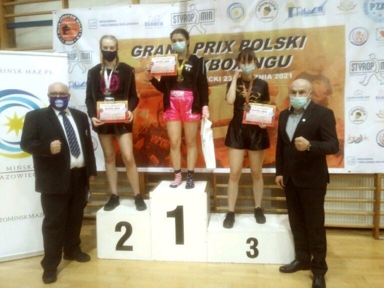 Grand Prix Polski w kickboxingu – WATAHA z medalami