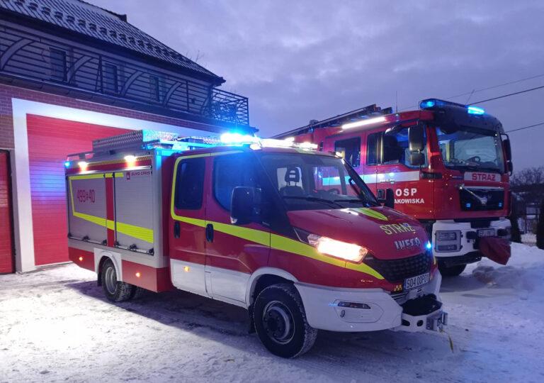 Strażacy z Makowisk mają nowy wóz