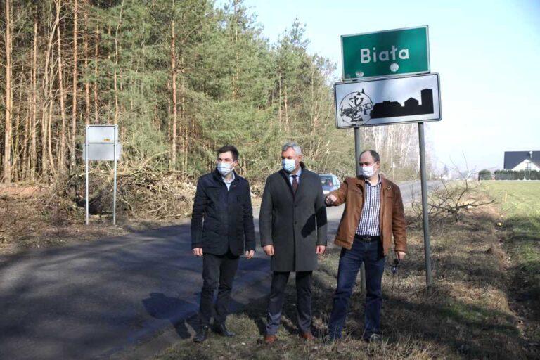 Ruszyła przebudowa drogi Pajęczno – Biała