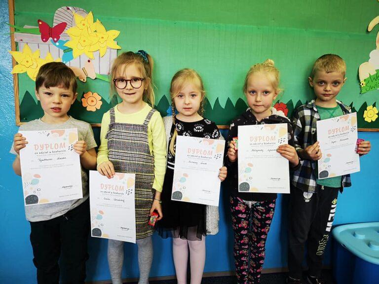 Przedszkolaki ze Strzelec Wielkich nagrodzone