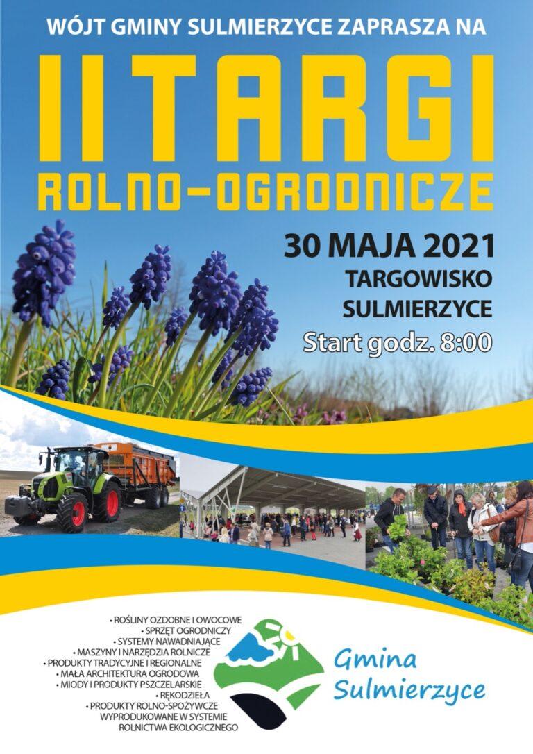 Targi rolno-ogrodnicze w Sulmierzycach