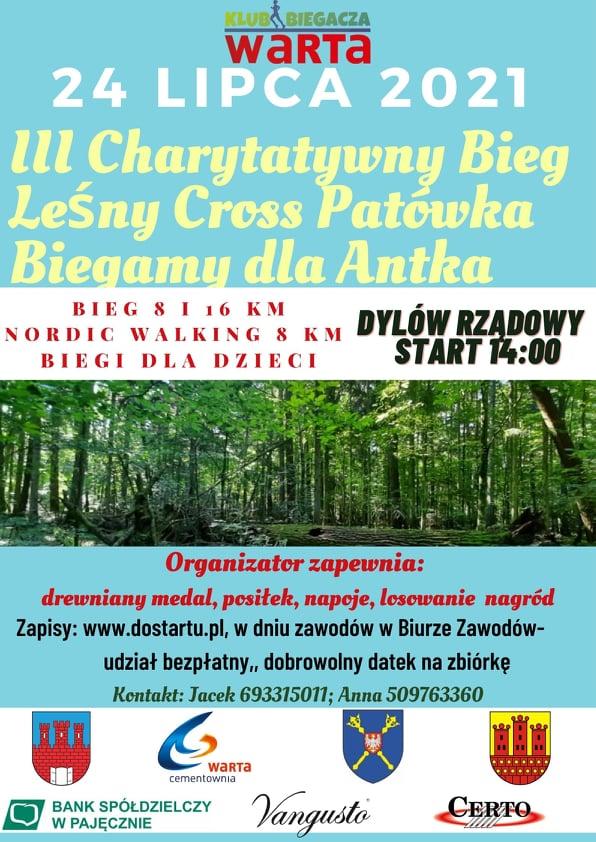 III Cross Patówka – charytatywny bieg leśny dla Antka
