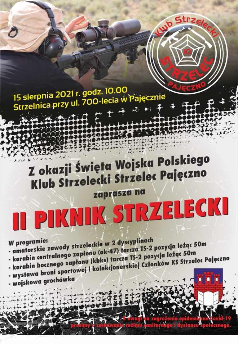 """""""II Piknik Strzelecki"""" w Pajęcznie"""
